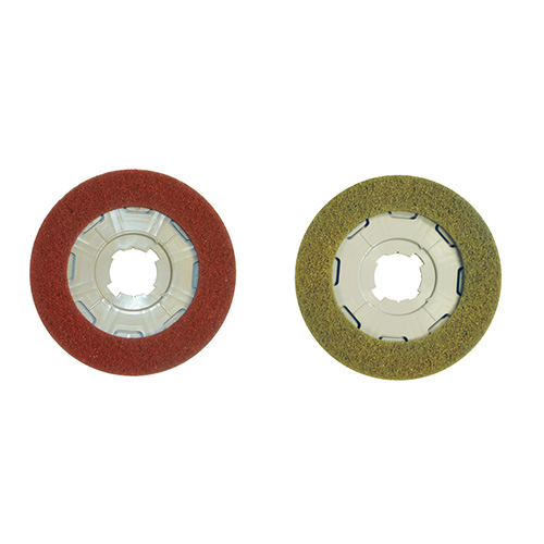 Disco Red Yellow Floor Polisher pads - part and accessories - SEBO Canada upright vacuum cleaners