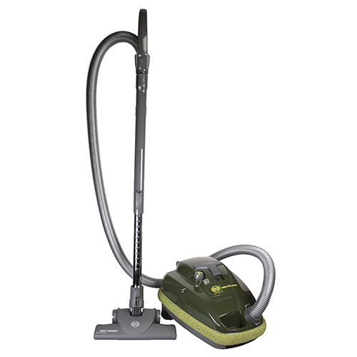 9696AM-AIRBELT-K2-Hunter-GreenCanister-Vacuum-Cleaner-SEBO-Canada-