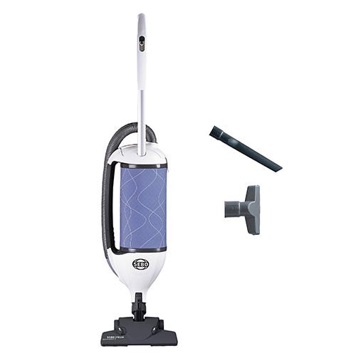 Felix 4 Kombi Ice Blue - SEBO Canada upright vacuum cleaners