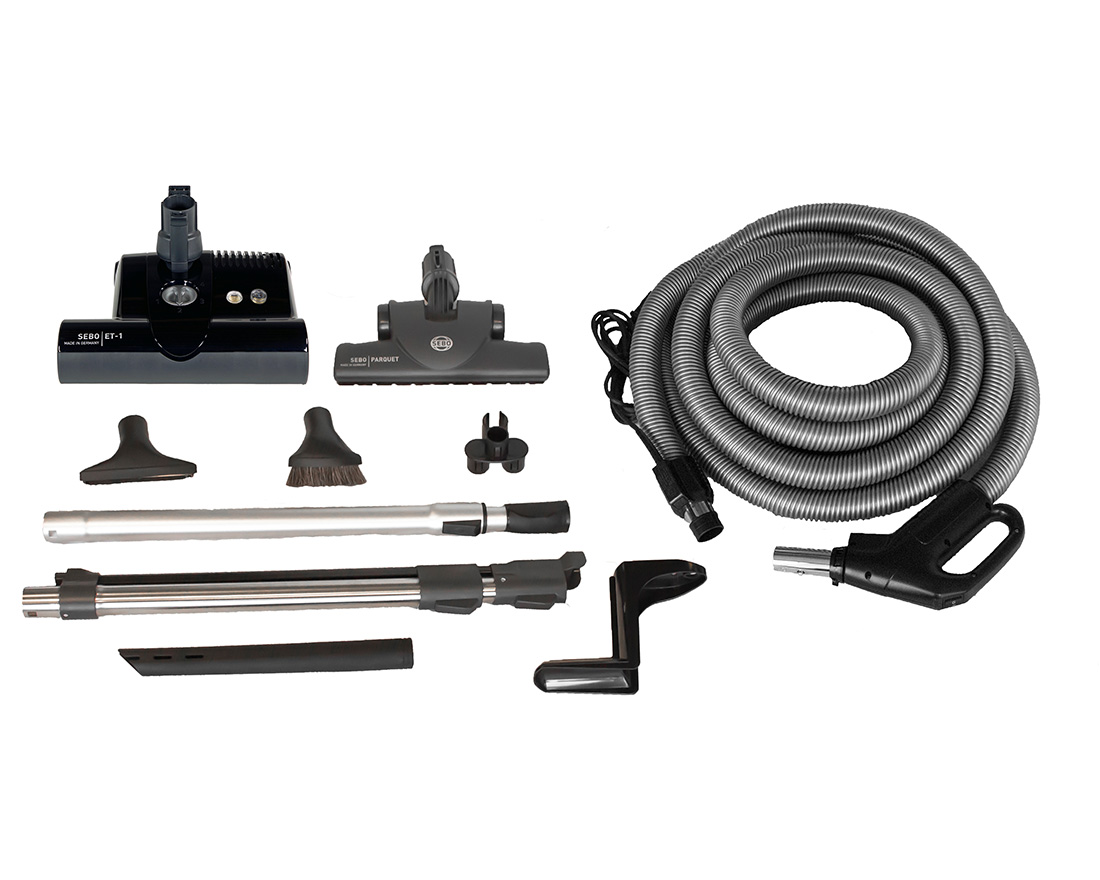 central vacuum kit sebo